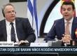 Yunanistan Dışişleri Bakanı Nikos Kodzias Makedonya'da