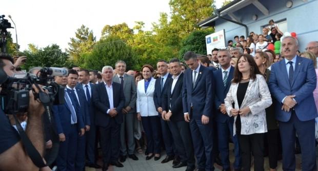 Momçilgrad'da Naim Süleymanoğlu anıtı açılış törenine binlerce kişi katıldı (VİDEO)
